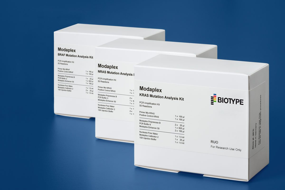 Modaplex KNB Mutation Analysis Kits